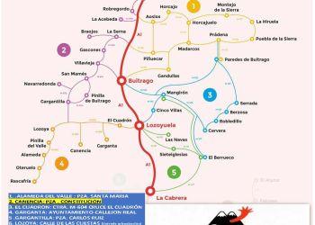 SIERRACAR el transporte a demanda que conecta la Sierra Norte de Madrid